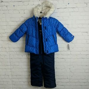 Oshkosh Kids (2) Pc Snowsuit Set